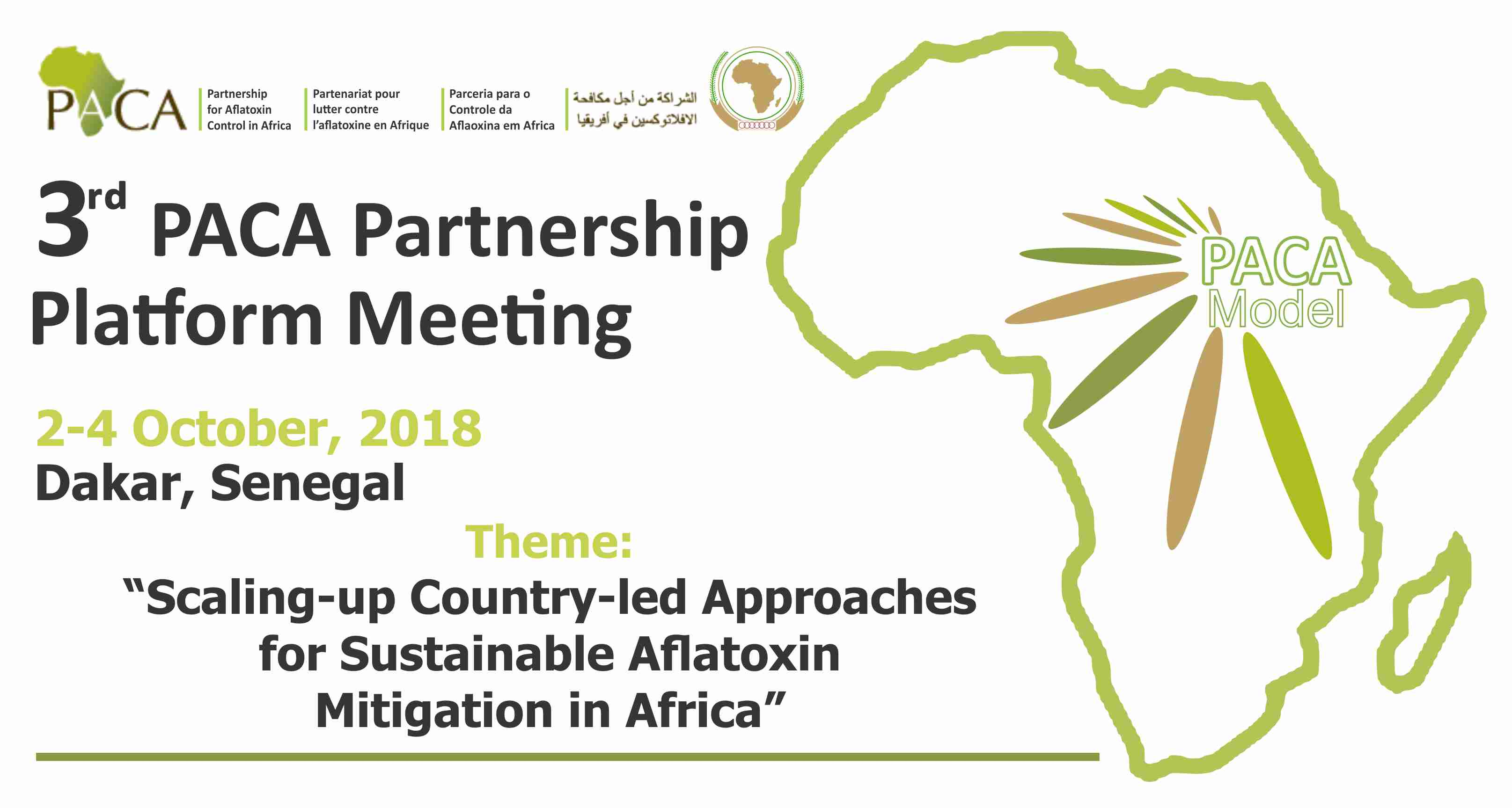 Third PACA partnership platform meeting
